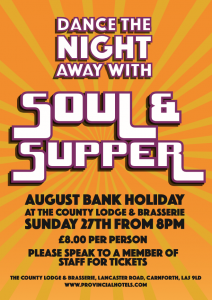 Soul and Supper poster PNG