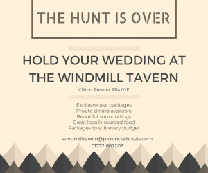 Have your wedding at the windmill tavern