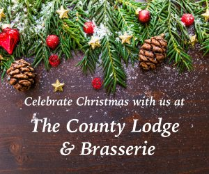 Christmas as the County Lodge and Brasserie